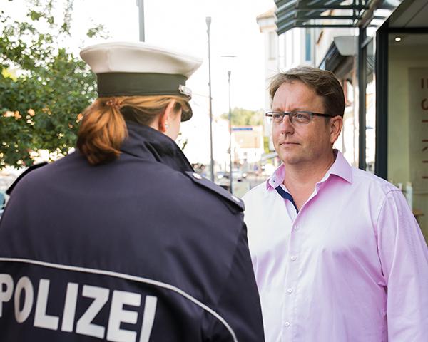 Markus Fichter für mehr Sicherheit in Eisenberg